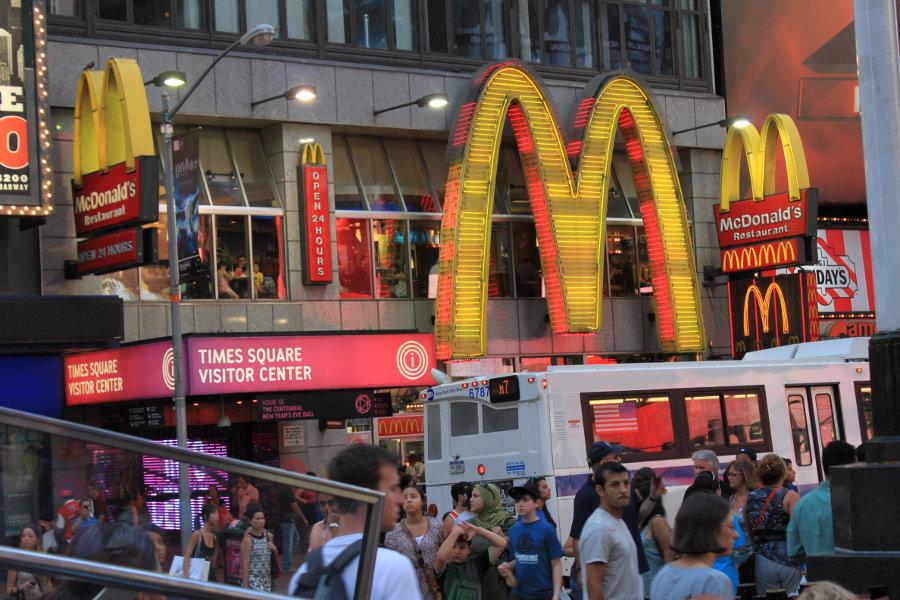 McDonald's på Times Square