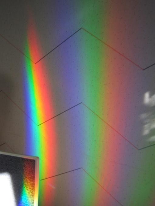 Optisk dispersion - ett fysikaliskt fenomen; Foto: Andreas Rejbrand