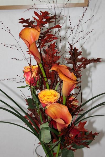En bukett blommor