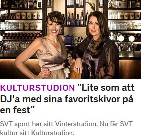 """Skärmdump från svt.se där ordet """"DJ:a"""" felaktigt använder apostrof i stället för kolon."""