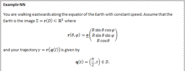 A screenshot of a Microsoft Word document where math vectors are in bold italics.