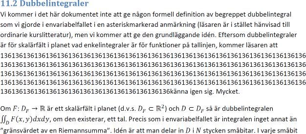 A screenshot of a Microsoft Word document exported as a PDF file. In the middle of the text, the number 136 is repeated many times in a way that looks very strange.