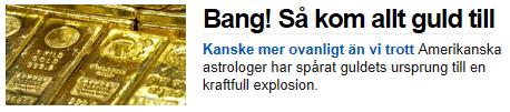 """Skärmbild från SVT.se: Begreppen """"astrolog"""" och """"astronom"""" blandas ihop."""